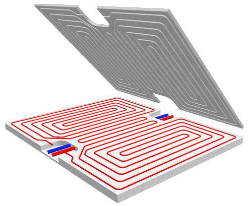 Impianti di riscaldamento e raffrescamento (a pavimento/a soffitto)  Milano Como Varese Monza Lecco